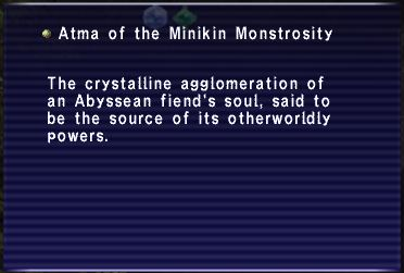 Atma of the Minikin Monstrosity