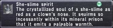 She-Slime Spirit
