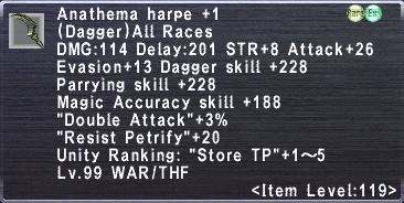Anathema Harpe +1