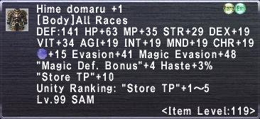Hime Domaru +1