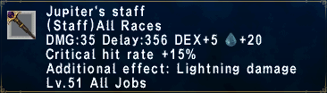 Jupiter's Staff