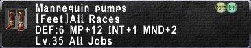 Mannequin Pumps