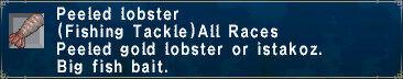 Peeled Lobster