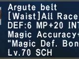 Argute Belt