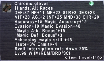 Chironic Gloves