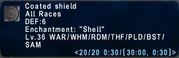 Coated Shield