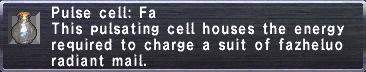 Pulse Cell: Fa