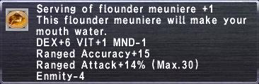 Flounder Meuniere +1