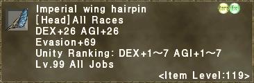 Imperial Wing Hairpin