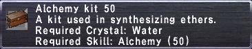 Alchemy Kit 50