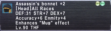 Assassin's Bonnet +2