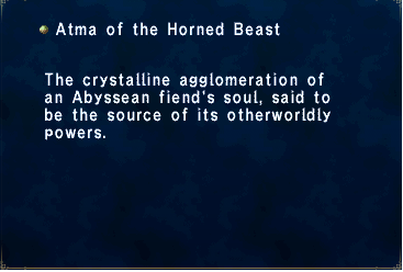 Atma of the Horned Beast
