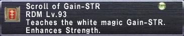 Gain-STR