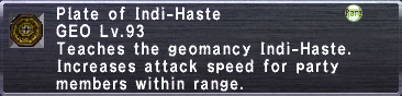 Plate of Indi-Haste