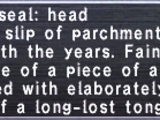 Caller Seal: Head