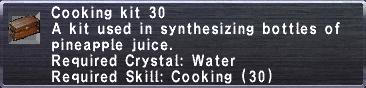 Cooking Kit 30