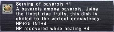 Bavarois +1