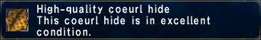 High-Quality Coeurl Hide