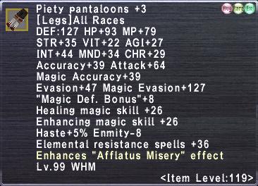 Piety Pantaloons +3