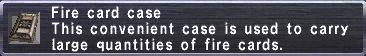 Fire Card Case