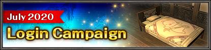 July 2020 Login Campaign