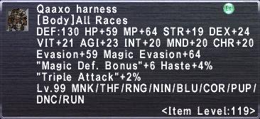 Qaaxo Harness