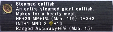 Steamed Catfish
