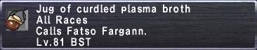 Curdled Plasma Broth