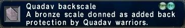 Quadav Backscale
