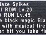 Blaze Spikes