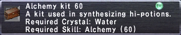 Alchemy Kit 60