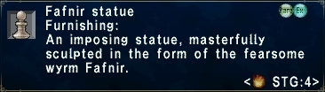 Fafnir Statue