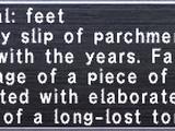 Iga Seal: Feet