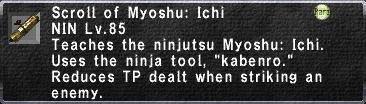 Myoshu: Ichi
