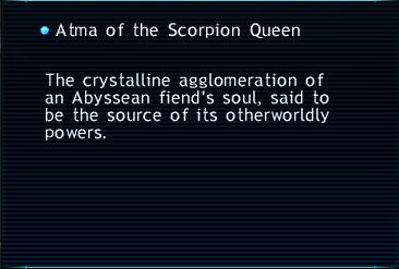 Atma of the Scorpion Queen