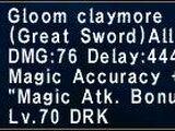 Gloom Claymore