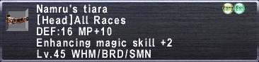 Namru's Tiara