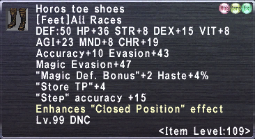 Horos Toe Shoes