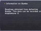 Information on Bumba