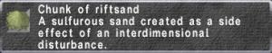 Riftsand