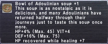 Adoulinian Soup +1