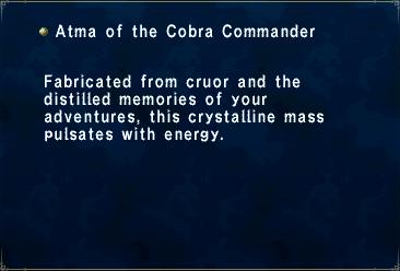 Atma of the Cobra Commander