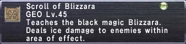 Scroll of Blizzara