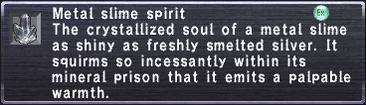 Metal Slime Spirit