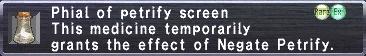 Petrify Screen