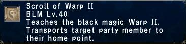 Warp II