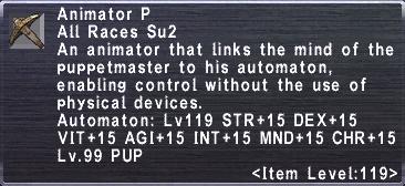 Animator P