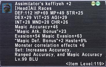 Assimilator's Keffiyeh +2