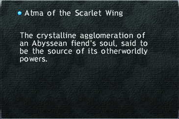 Atma of the Scarlet Wing