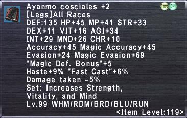 Ayanmo Cosciales +2